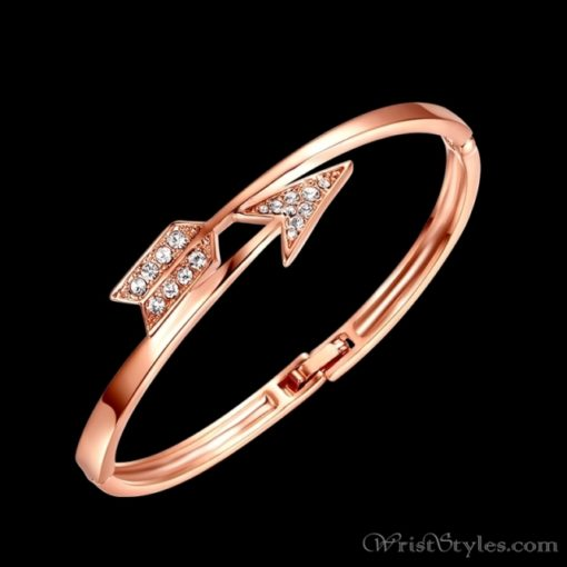 Arrow Rose Gold Bangle UM101999BA 1
