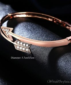 Arrow Rose Gold Bangle UM101999BA 2