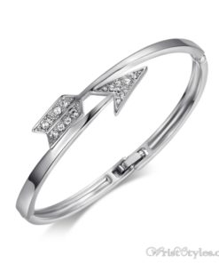 Arrow White Gold Bangle UM870563BA 4