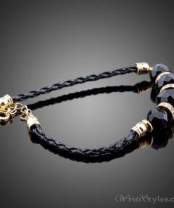 Black Strand Charm Bracelet AZ417817CH 1