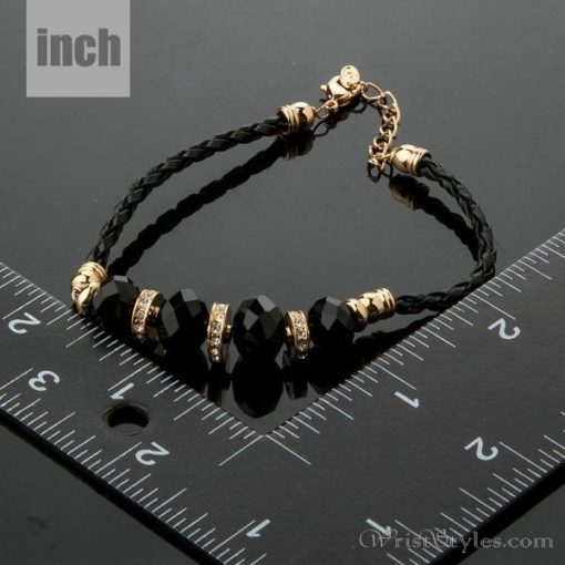 Black Strand Charm Bracelet AZ417817CH 2
