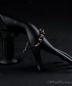 Black Strand Charm Bracelet AZ417817CH 3