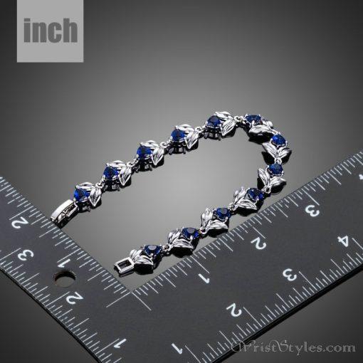 Blooming Hearts Charm Bracelet AZ443841CH 2