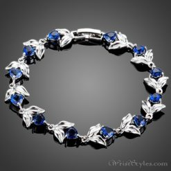 Blooming Hearts Charm Bracelet AZ443841CH