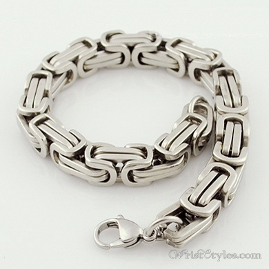 Byzantine Chain Bracelet NO351534BR 001
