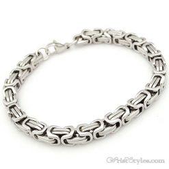 Byzantine Chain Bracelet NO351534BR 003