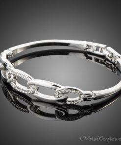 Chain Link Bangle AZ860610BA 1