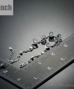 Colored Cube Charm Bracelet AZ007122CH 2