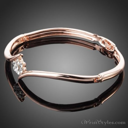 Crystal Rose Elegant Bangle AZ833064BA 1