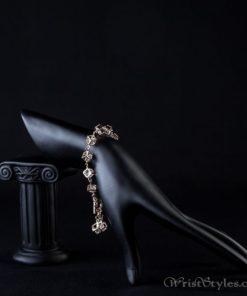 Cubed Crystal Charm Bracelet AZ613446CH 3
