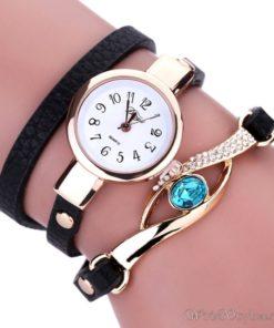 Duoya Eye Gemstone Watch Bracelet FE039259WB