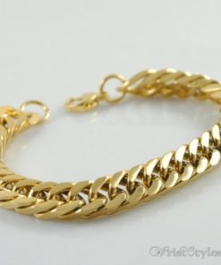 Mens Curb Chain Bracelet NO323454BR 002
