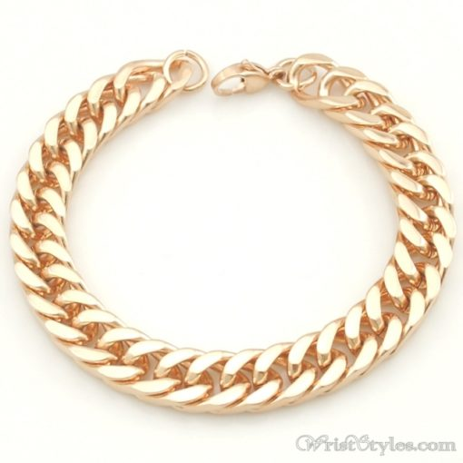 Mens Curb Chain Bracelet NO323454BR 008