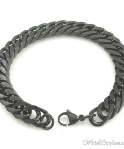Mens Curb Chain Bracelet NO323454BR 010