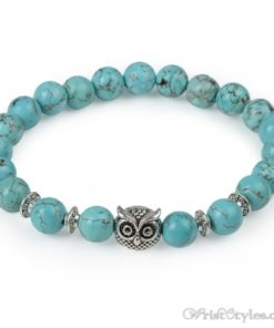 Natural Stone Charm Bracelet LO913127CH 003