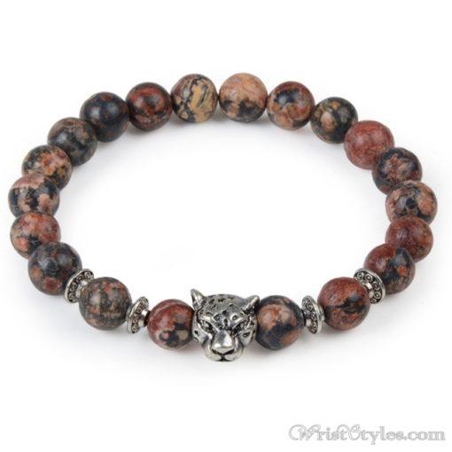 Natural Stone Charm Bracelet LO913127CH 005