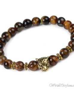Natural Stone Charm Bracelet LO913127CH 006