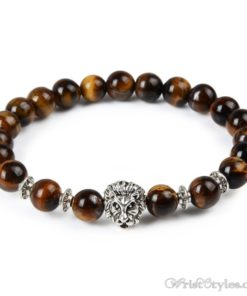 Natural Stone Charm Bracelet LO913127CH 007