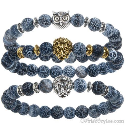 Natural Stone Charm Bracelet LO913127CH 008