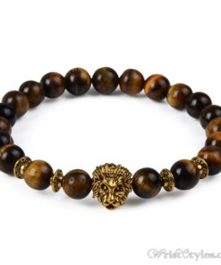 Natural Stone Charm Bracelet LO913127CH 009
