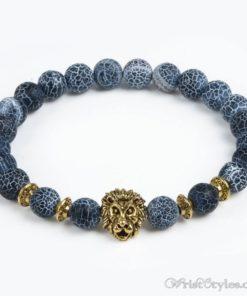 Natural Stone Charm Bracelet LO913127CH 011