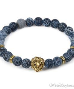 Natural Stone Charm Bracelet LO913127CH 012
