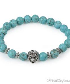 Natural Stone Charm Bracelet LO913127CH 016