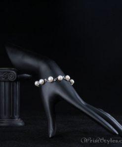 Pearl And Crystal Bracelet AZ417622BR 3