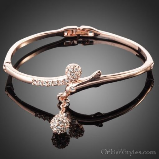 Round Pendant Bangle AZ970150BA