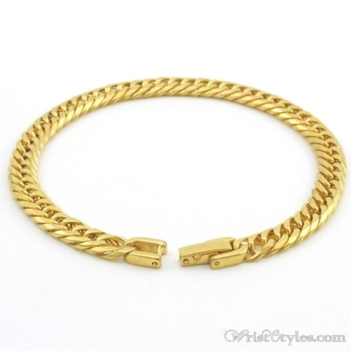 Stainless Steel Link Chain Bracelet NO303861BR 1