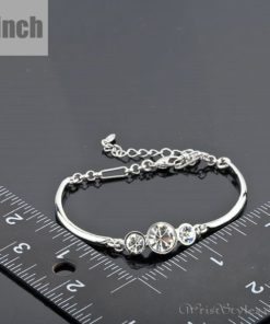 Triple Head Platinum Bracelet AZ224691BR 2