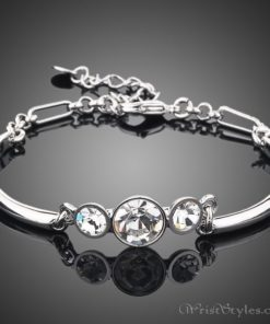 Triple Head Platinum Bracelet AZ224691BR