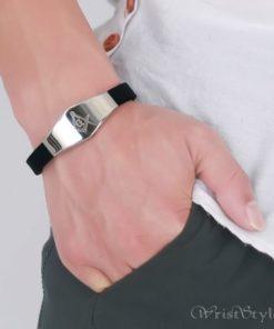 Masonic Silicone Bracelet VN615701SI 6