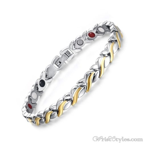 Therapy Stainless Steel Bracelet VN127476BR 2