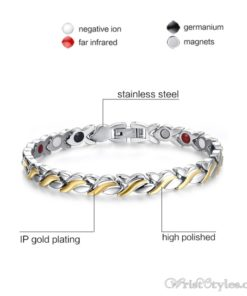 Therapy Stainless Steel Bracelet VN127476BR 3