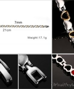 Heart Design Therapeutic Bracelet VN055867BR 3