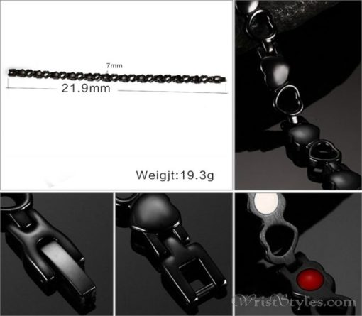 Heart Design Therapeutic Bracelet VN055867BR 4