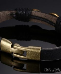 Infinity Genuine Leather Bracelet VN079755LB 4