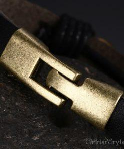 Infinity Genuine Leather Bracelet VN079755LB 5