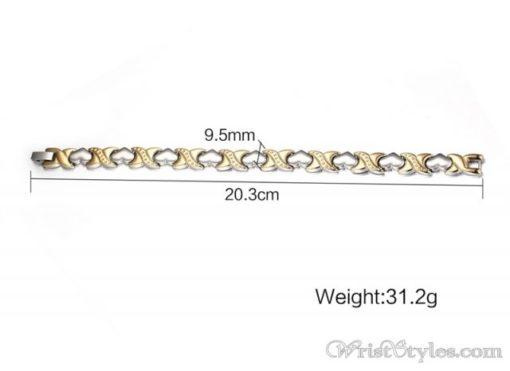 Magnetic Hearts Bracelet VN431500BR 2
