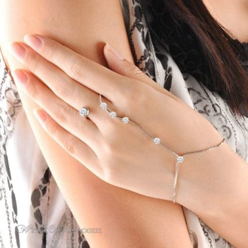 Open Ring Hand Chain NA060507HC 11