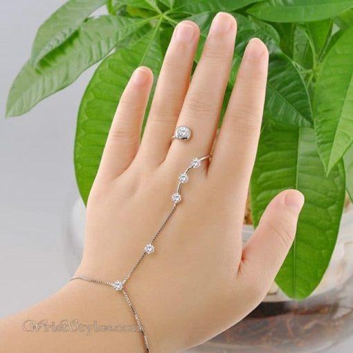 Open Ring Hand Chain NA060507HC 12
