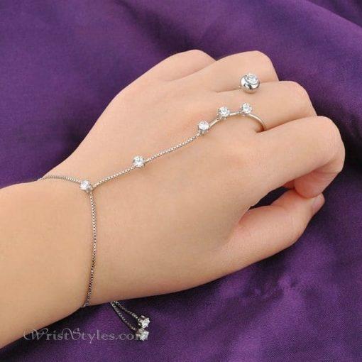 Open Ring Hand Chain NA060507HC 8
