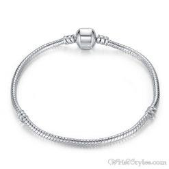 Classic Silver Charm Bracelet BA344490CB
