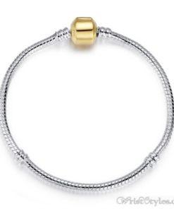 Classic Silver Charm Bracelet BA344490CB 6