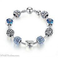 Love Flower Charm Bracelet BA036822CB