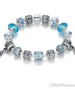 Murano Glass Beads Charm Bracelet BA049134CB