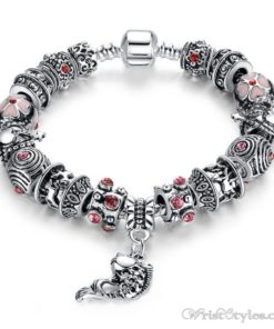 Tibetan Fish Charm Bracelet BA638572CB 1