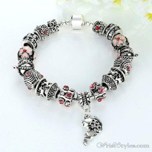 Tibetan Fish Charm Bracelet BA638572CB 2