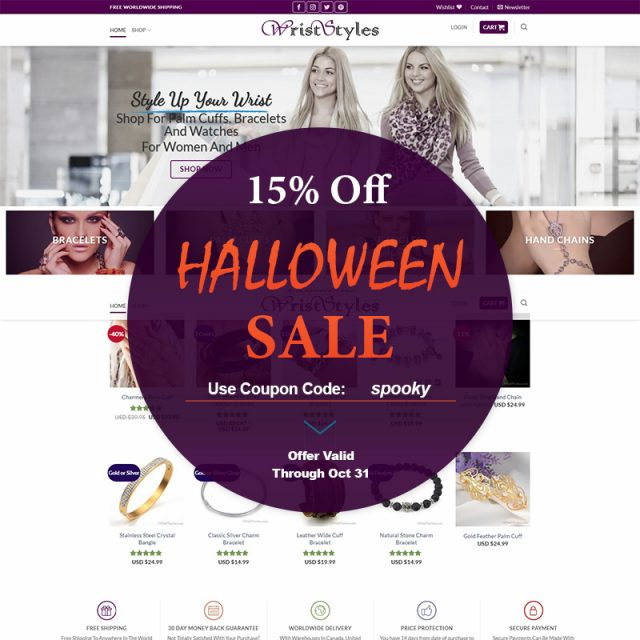 Halloween Sale Post